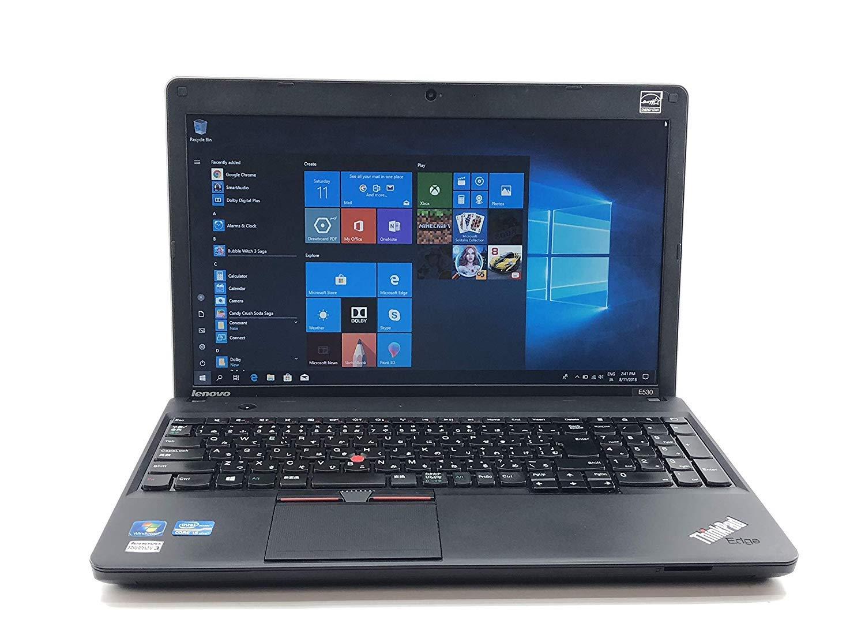 中古 Lenovo English OS Laptop Computer, Intel Core i5-3210M 2.50 GHz, 4 GB, 500 GB, 15.6 Inch, Windows 10 Pro, Wi-Fi, Web-Cam,DVD, Used, 英語版OSノートPC,Lenovo ThinkPad E530 B07HL39CY1, チノシ b4436078
