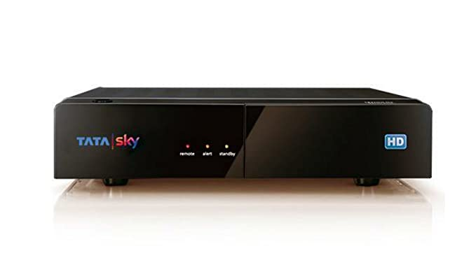 Tata Sky Hd Set Top Box With 1 Year Ultra Pack And 1 Amazonin