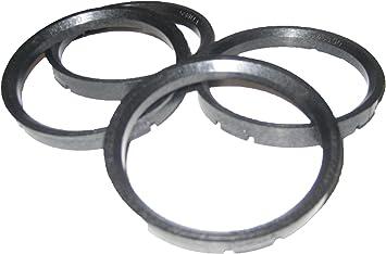 Pack of 4 Gorilla Automotive 71-6706 Wheel Hub Centric Rings 71mm OD x 67.06mm ID
