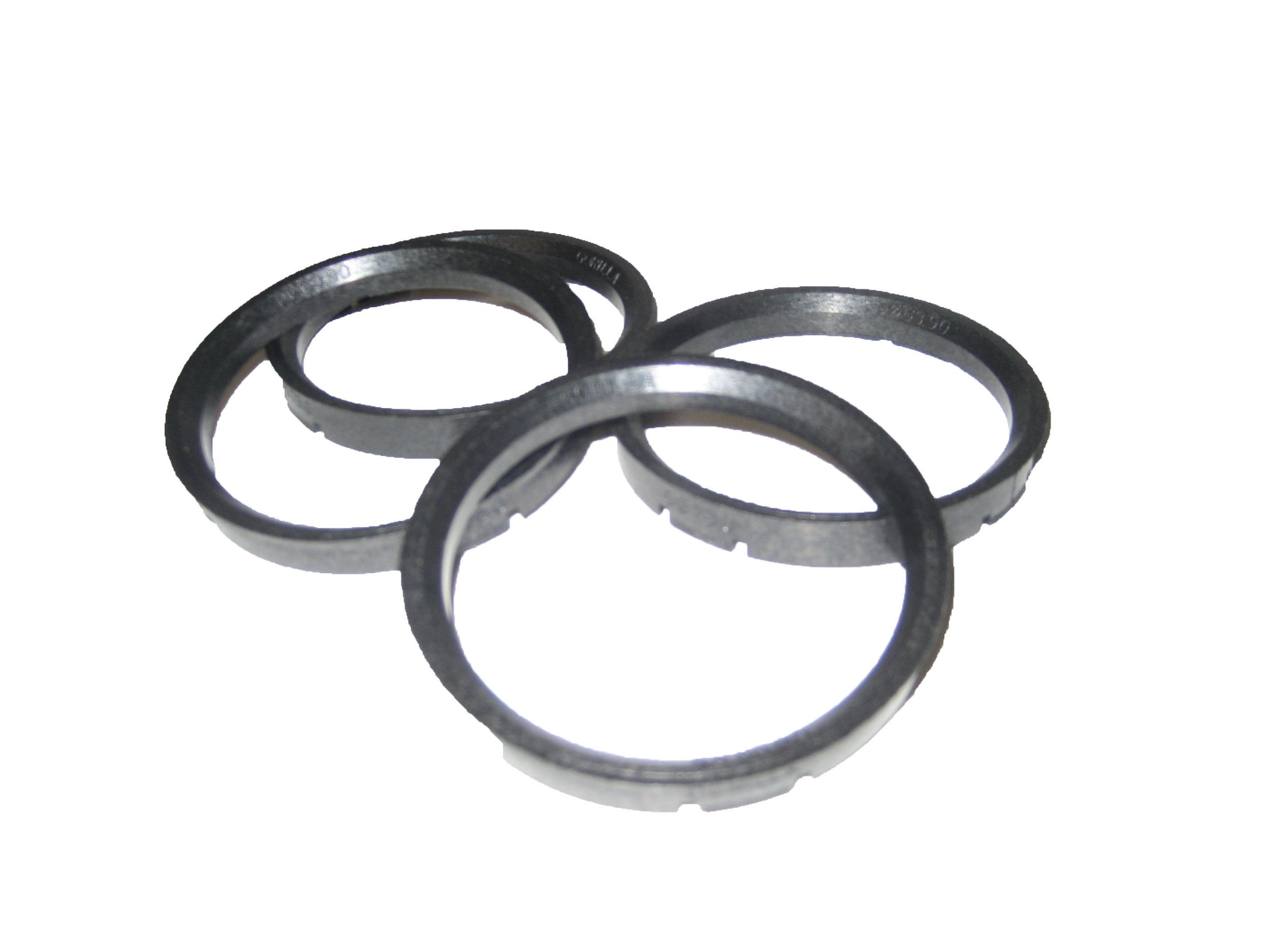 Gorilla Automotive 73-6606 Wheel Hub Centric Rings (73mm OD x 66.06mm ID) - Pack of 4 by Gorilla Automotive (Image #1)
