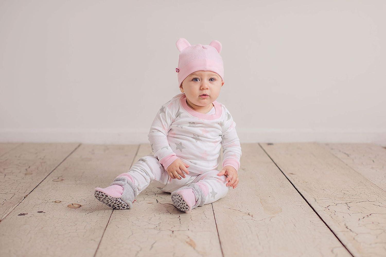 Zutano Baby Girls Mittens Fleece Winter Soft Pink One Size
