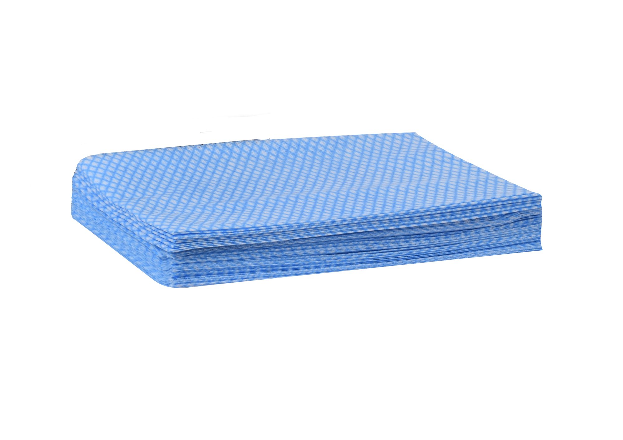 Tork 192181A Foodservice Cloth, 1/4 Fold, 1-Ply, 13'' Width x 21'' Length, Blue/White (Case of 1 Box, 240 Cloths) by Tork (Image #6)