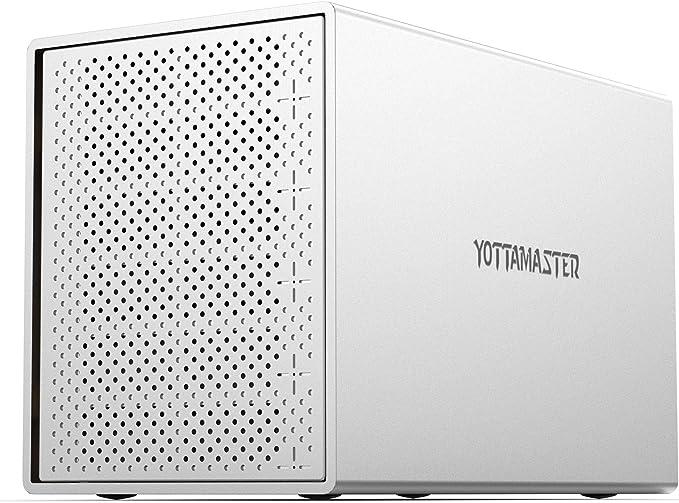 Yottamaster Aluminium 5 Fach Raid Festplattengehäuse Computer Zubehör