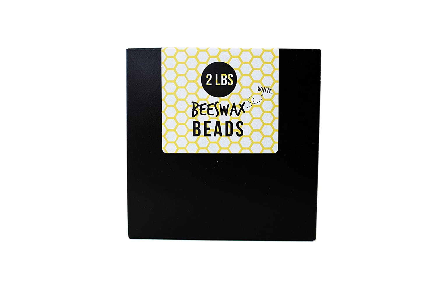 All-Natural Beeswax Beads / Pastilles - Pure, Cosmetic Grade (2 Pounds, Yellow) American Soy Organics