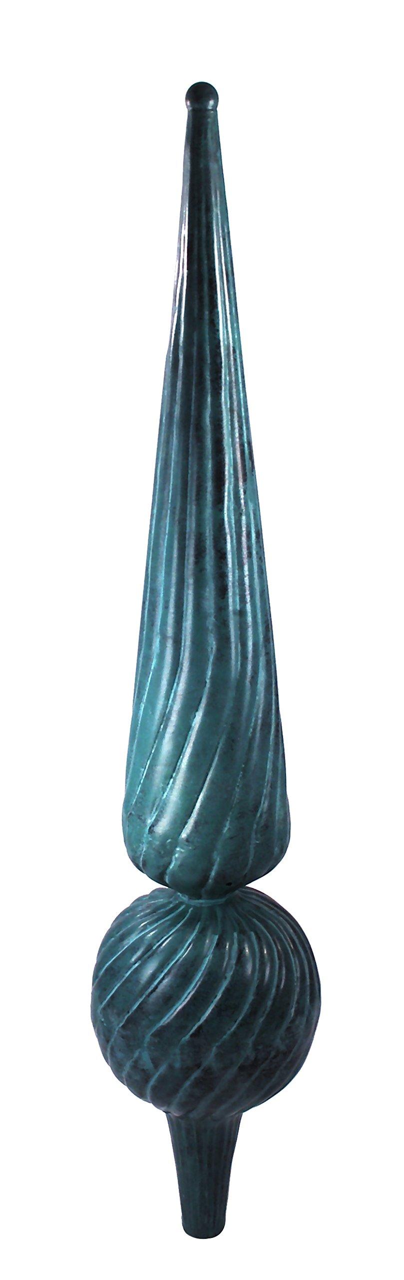 Dalvento Medium Florentine Finial- Verdigris by Dalvento