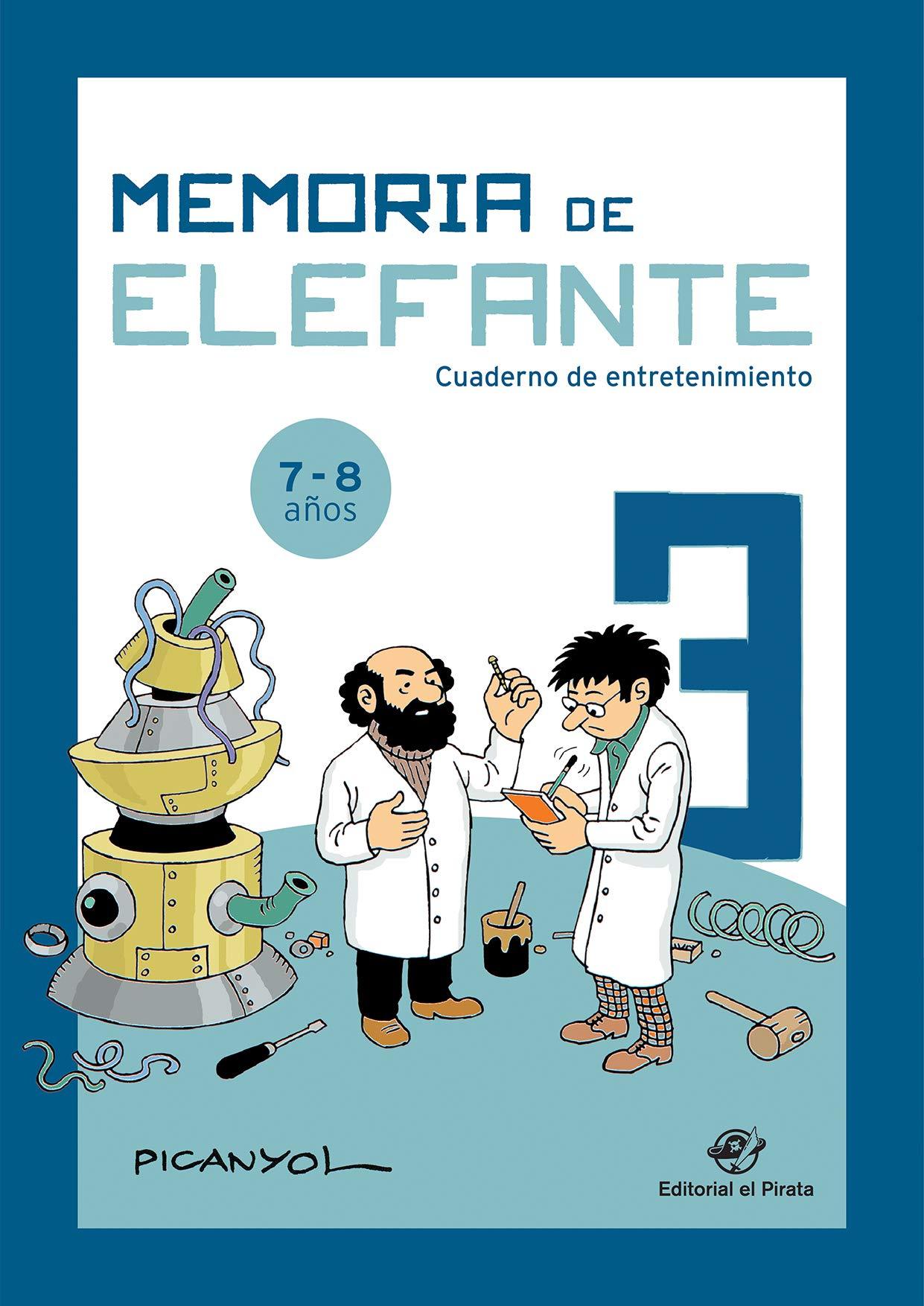 Memoria de elefante 3: cuaderno de entretenimiento (Spanish) Pamphlet