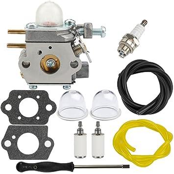 amazon com dalom rm2510 carburetor w fuel filter primer bulb for Walbro Fuel Filter dalom rm2510 carburetor w fuel filter primer bulb for mtd remington rm2599 pole saw rm4625 rm