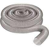 "4"" x 20' CLEAR PVC DUST COLLECTION HOSE BY PEACHTREE WOODWORKING PW376"