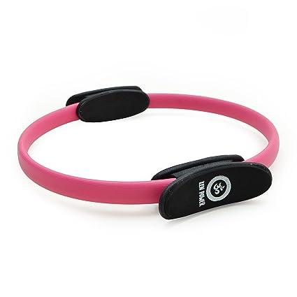 Anillo de pilates/de yoga ZenPower - dispositivo de entrenamiento para un entramiento de fuerza y resistencia eficaz, Anillo con un diámetro de 38cm - ...