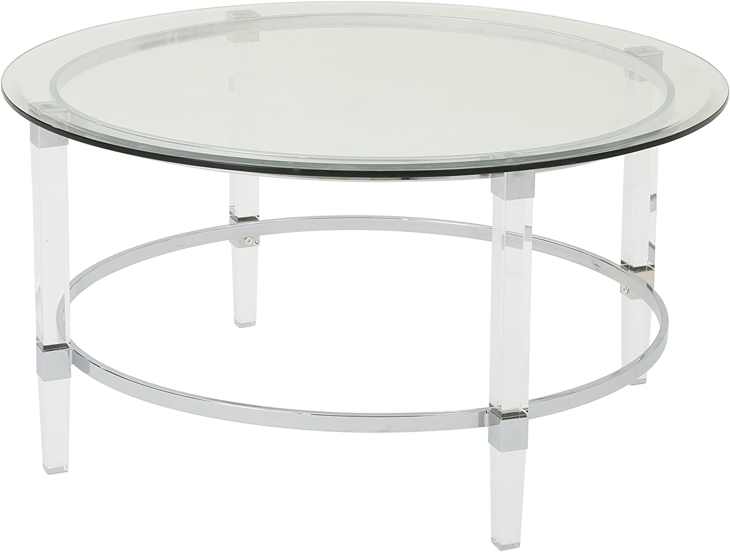 - Amazon.com: Christopher Knight Home Elowen Modern Round Tempered