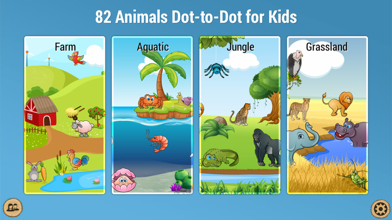 Amazon.com: 82 Animals Dot-to-Dot for Kids - Educational game for ...