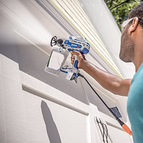 Graco 17D889 TrueCoat is one of the best handheld paint sprayer that is suitable for Exterior Painting