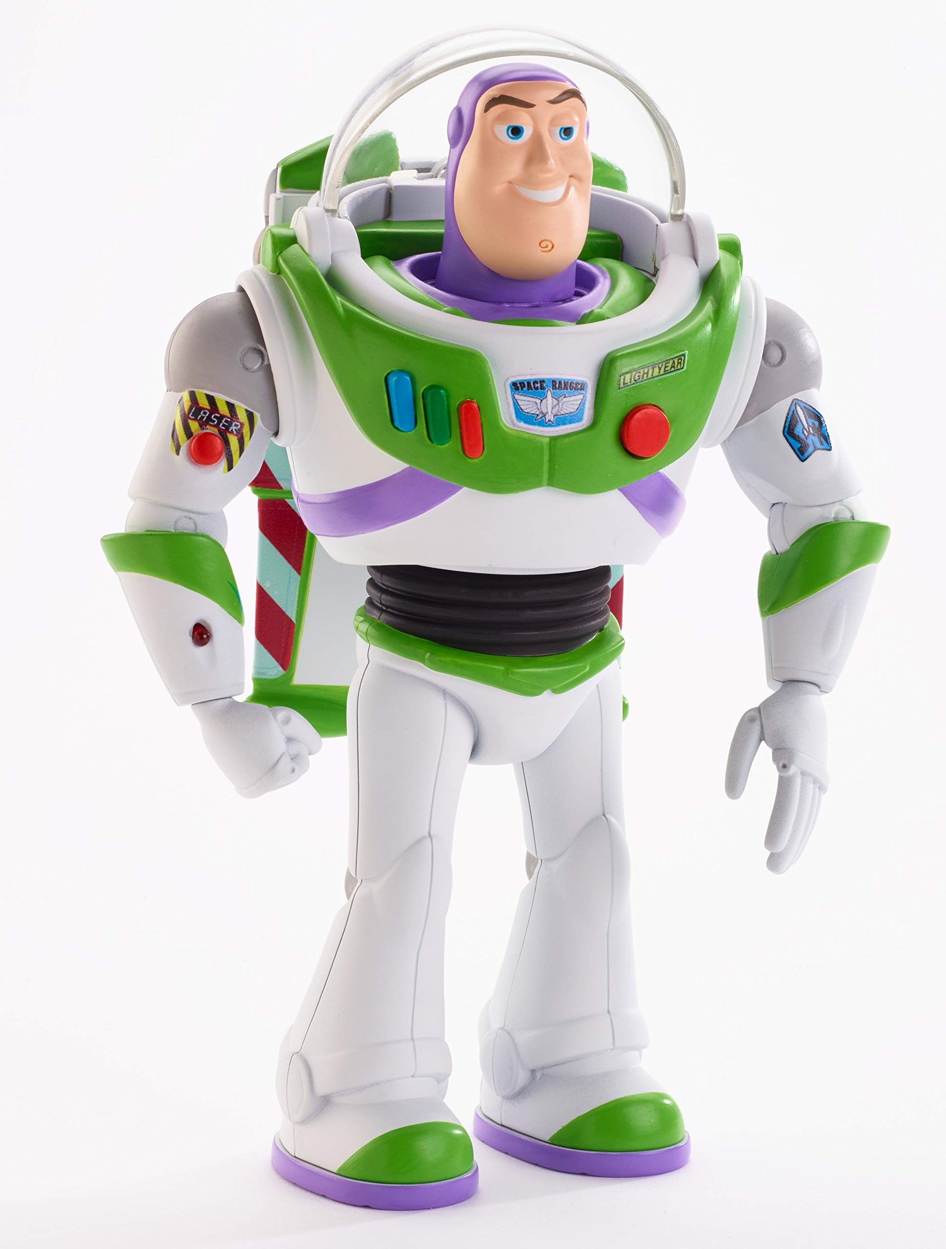 Disney Pixar Toy Story Ultimate Walking Buzz Lightyear, 7'' by Toy Story (Image #10)