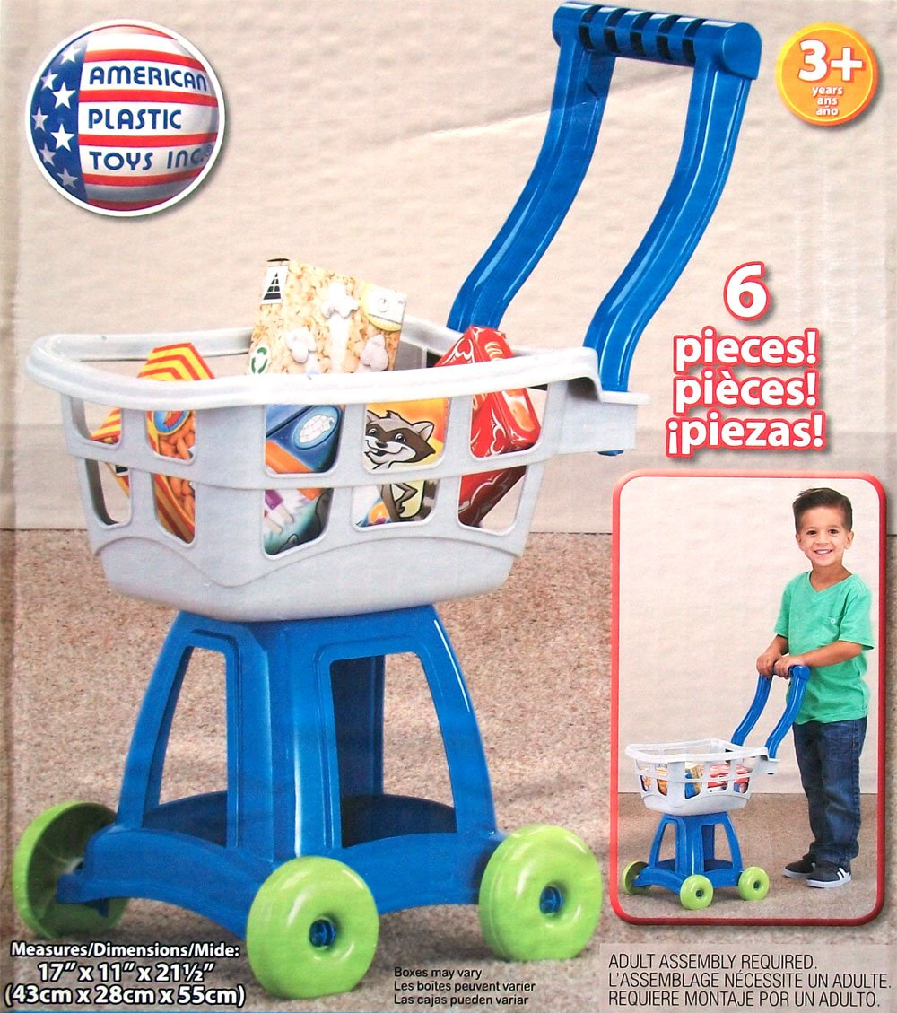Amazon.com: My Very Own Market Cart Set 6 Piece Toy Shopping Cart: Toys & Games