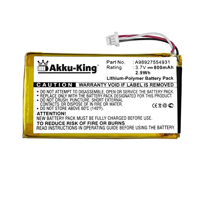 Akku-King batería para Sony Reader eBook PRS-600, PRS-600/BC, PRS ...