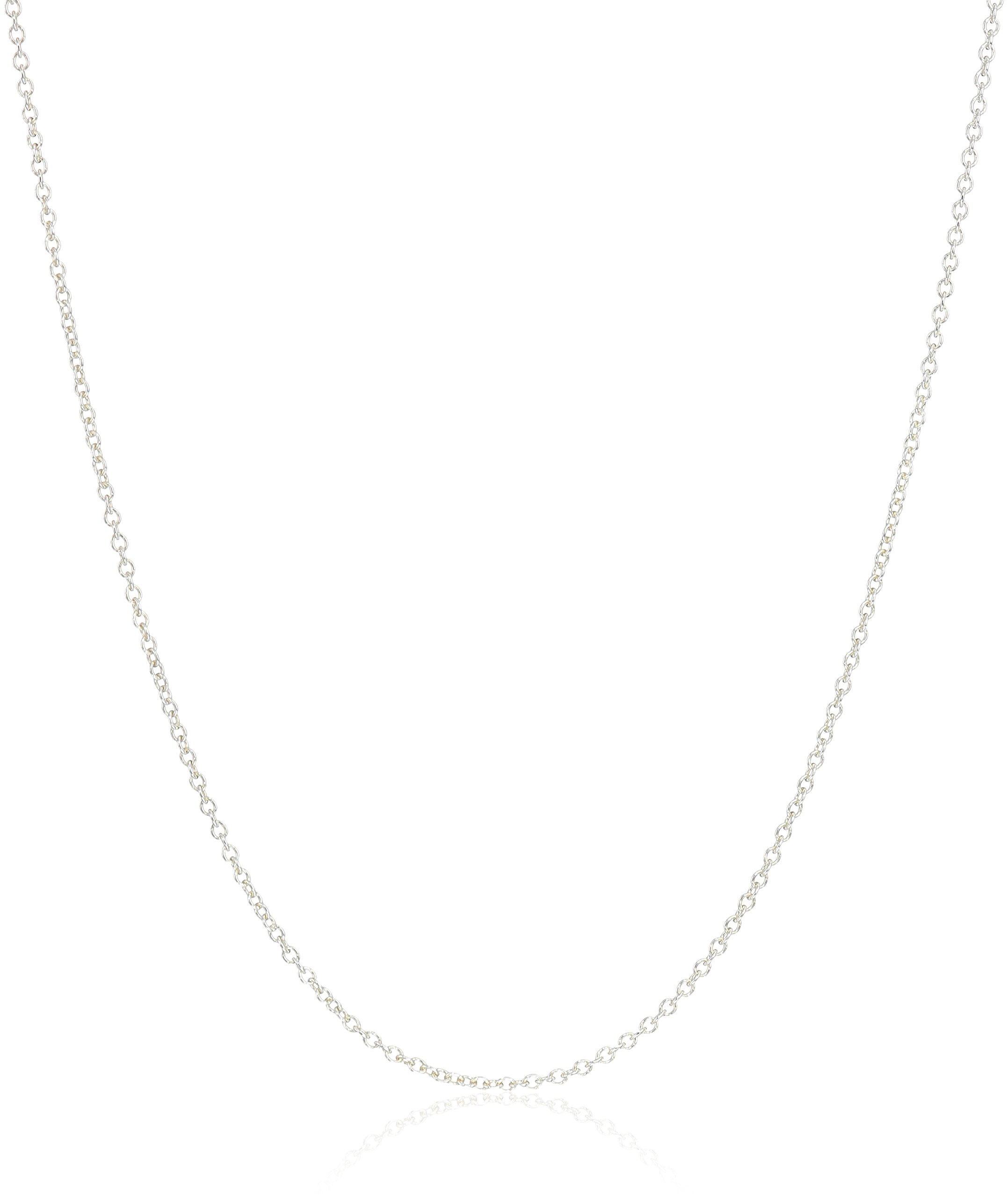 Dogeared Superfine Replacement Chain, 16'' + 2'' Extension, 0.925 Sterling Silver by Dogeared (Image #2)