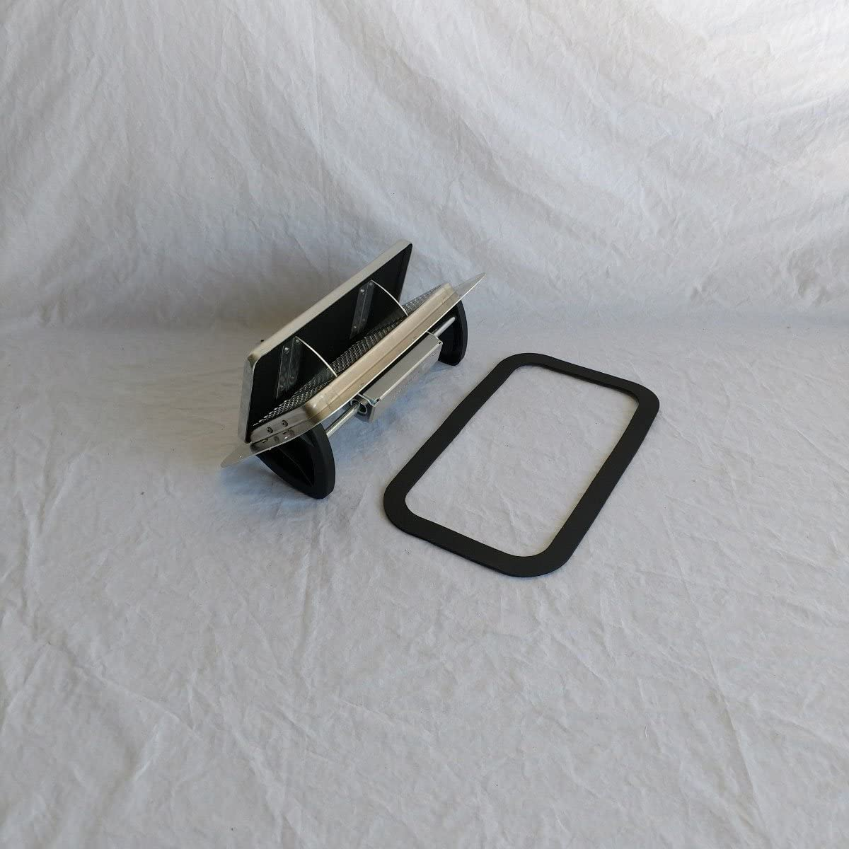 ROOF MOUNT VENT FOR RALLY CAR 2-WAY HINGELESS ALUMINUM