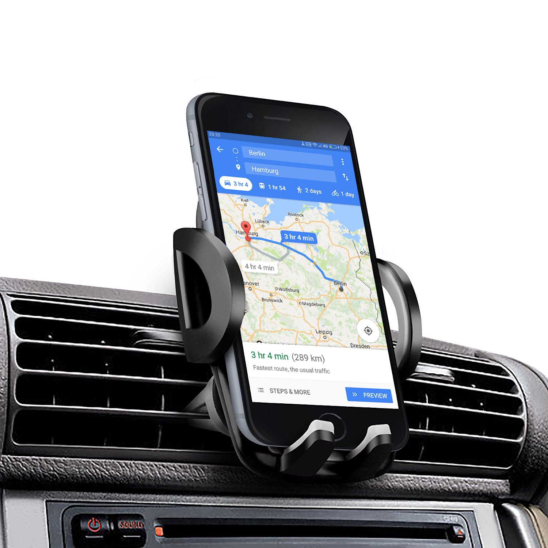 Soporte Movil Coche Amotus Universal Soporte de Smartphone para Rejillas del Aire
