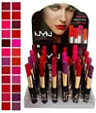 Make Line Nyn Matte Waterproof Lipsticks - Pack of 24