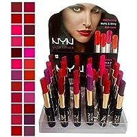 NYN Make Line Matte Waterproof Lipsticks - Pack of 24