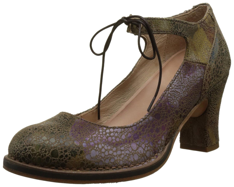 TALLA 39 EU. Neosens S278 Fantasy Floral, Zapatos con Correa de Tobillo para Mujer