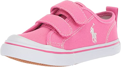 Polo Ralph Lauren Kids Girls Easton Ii Ez Sneaker