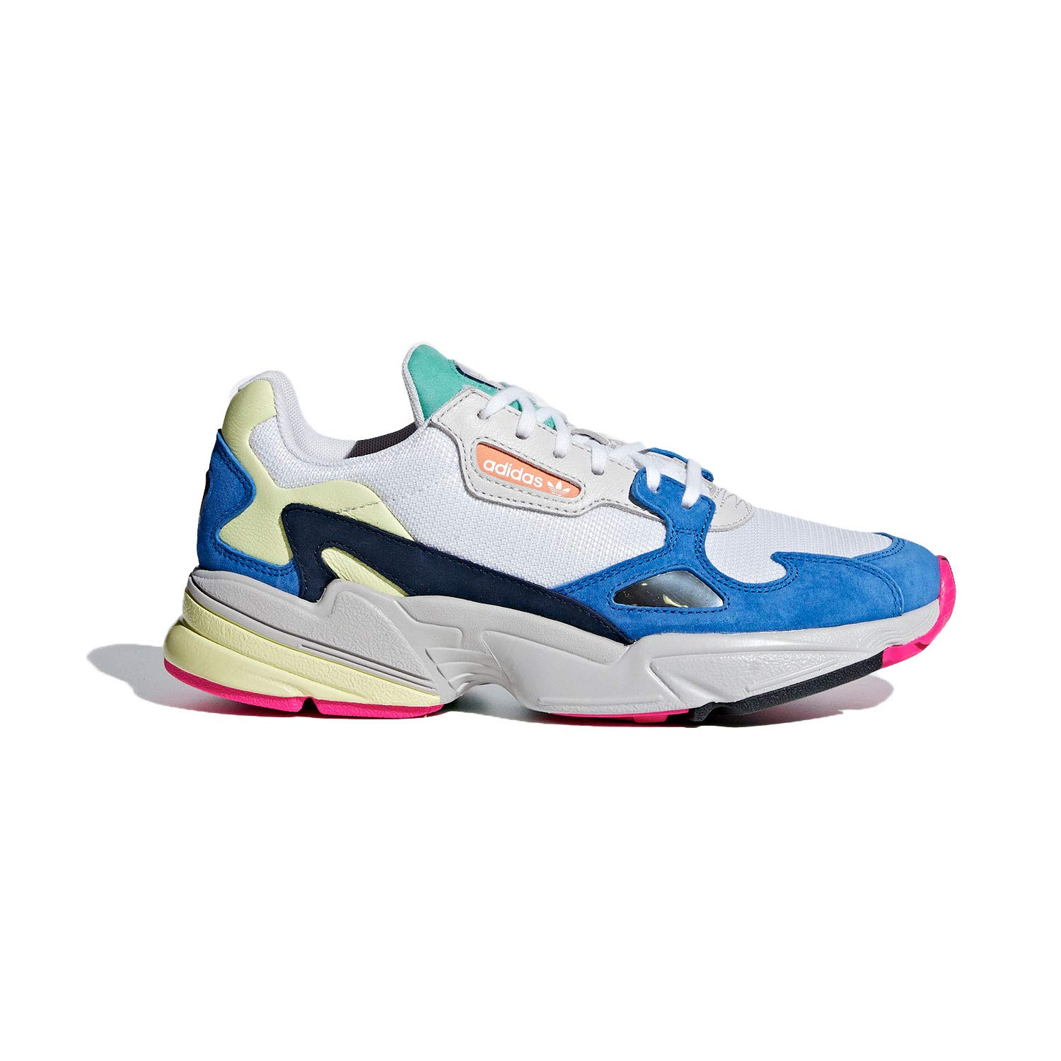 new concept 61c68 fd34f Amazon.com adidas Falcon Womens in Cloud WhiteBlue, 10 Shoes