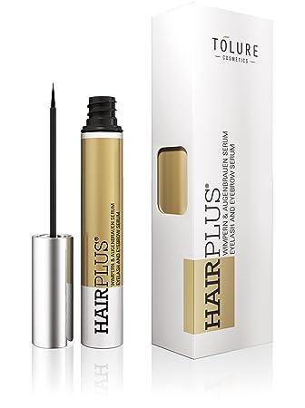 Tolure Cosmetics Hairplus Suero de 2-in-1 para las Pestañas y las Cejas - 3 ml: Amazon.es: Belleza