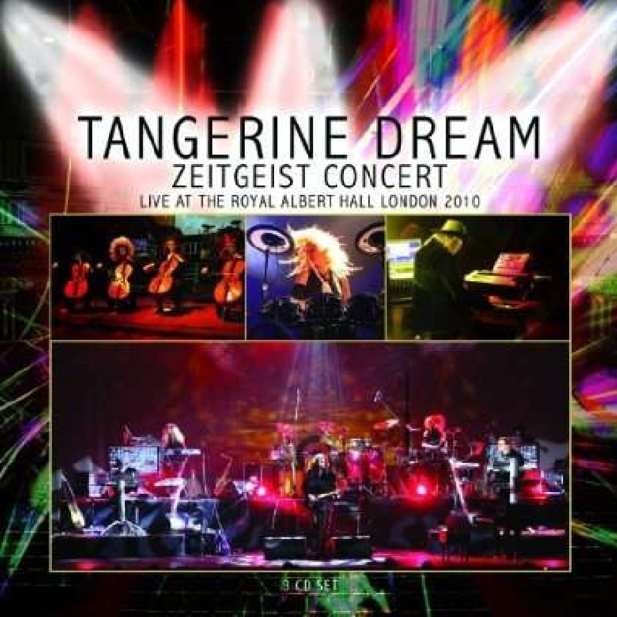 CD : Tangerine Dream - Zeitgeist Concert - Live At The Royal Albert Hall, London 2010 (Boxed Set, 3 Disc)
