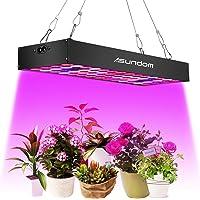 Pflanzenlampe Asundom LED Pflanzenlampen ,Volles Spektrum mit UV und IR 36W Grow Light aus Aluminium ist mit Daisy-Chain Funktion,geeignet für Hydrokultur, Zimmerpflanzen,und Blumen.