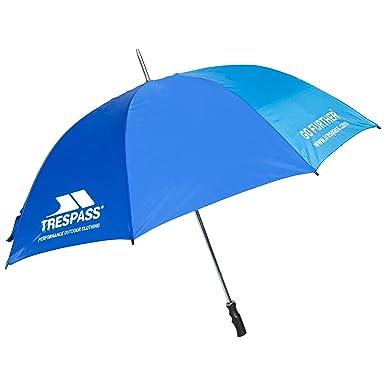 Trespass Golf Paraguas, Unisex Adulto, Azul (BLU), Talla Única