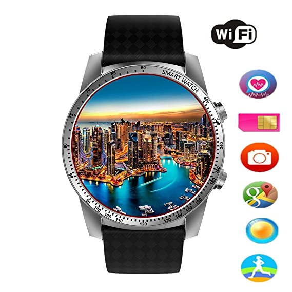 Efanr KW99 Round Bluetooth Smart Watch Unlocked Android 5.1 Wrist Phone SIM 3G WIFI Touchscreen Smartwatch