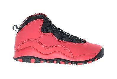 93910a21a7c7 Jordan Girls Air 10 Retro (GS) Big Kids Basketball Shoes Fusion Red Black