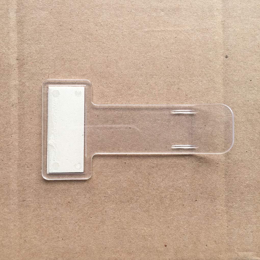 2 Pi/èces Parking Ticket Transparent Support Voiture Parking Clip Pare-Brise Billets Glace Porte