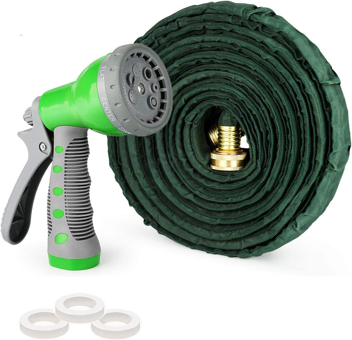 AUTOXEL Expandable Garden Hose,50 ft Leakproof Lightweight Garden Water Hose High Pressure Hose Spray