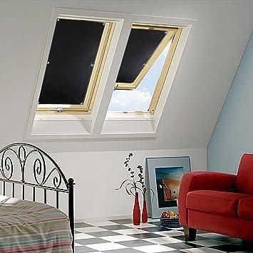 Wunderbar Schön Kinlo 60 X 115 Cm Rollo Thermo Verdunklung Für Velux Fenster  Deckenleuchte KFZ Sonnenblende Für