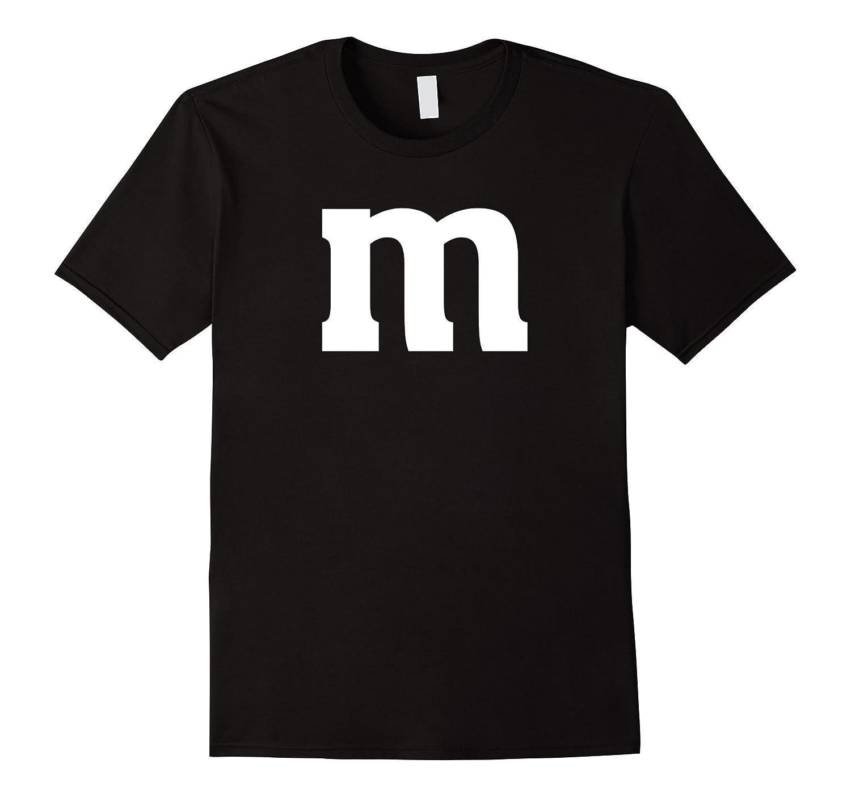 Letter M Lowercase T Shirt English Alphabet Latin Tees T Shirt