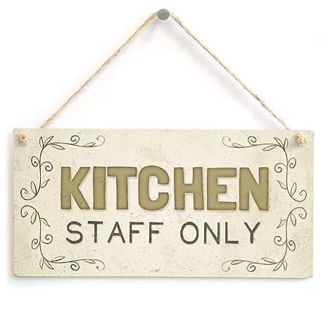 Amazon.com: Personal de cocina sólo – hermosa casa accesorio ...