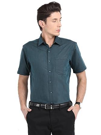 Pan America Men's Formal Shirt Formal Shirts at amazon