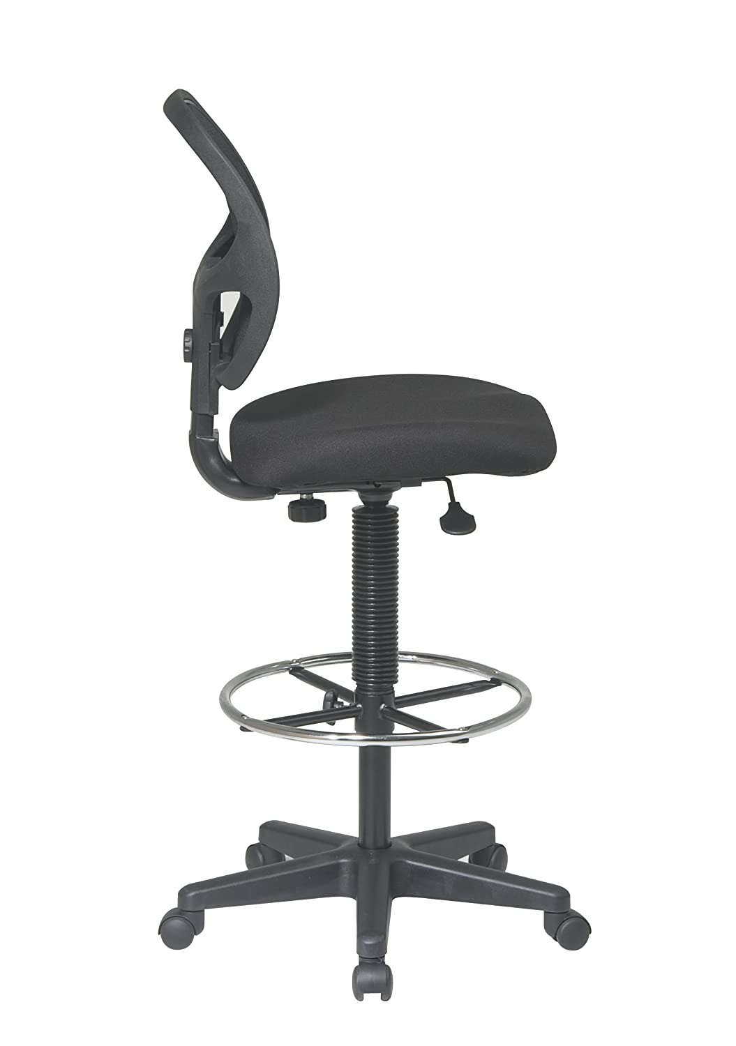 Amazon Office Star Deluxe Mesh Back Drafting Chair with 20 – High Drafting Chair