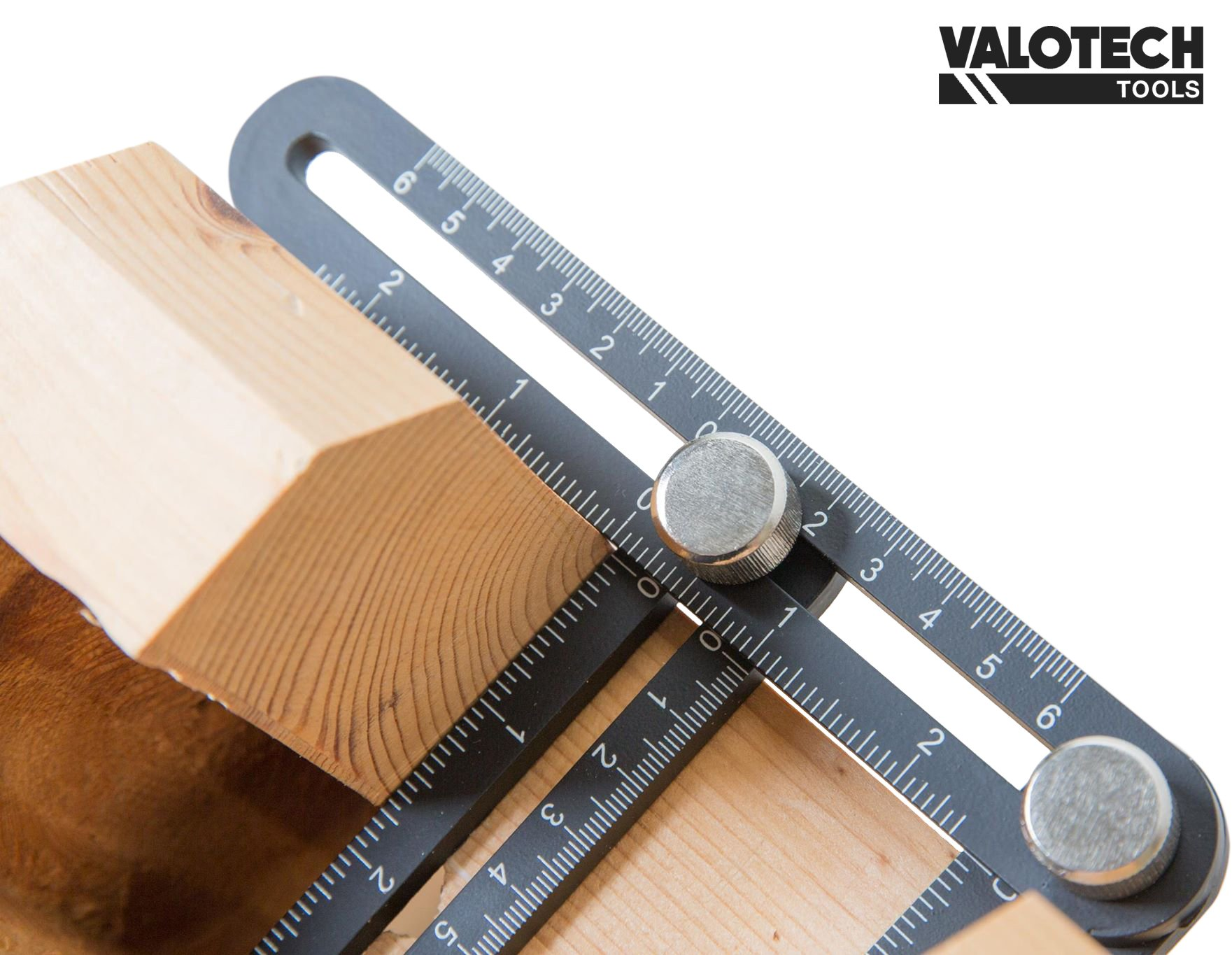 Full Metal angleizer Multi-Angle Measuring Ruler: Ultimate Template Tool for Measuring Angles – Precise Upgraded Aluminum Template Tool - for DIY, Roofers, Carpenters, Handymen -Includes Carry Pouch by Valotech (Image #8)