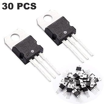 4 pack L7805CV 5V Voltage Regulator 1.5A