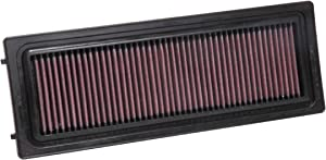 K&N Engine Air Filter: High Performance, Premium, Washable, Replacement Filter: 2016-2019 ALFA ROMEO (Giulia, Stelvio) , 33-3071