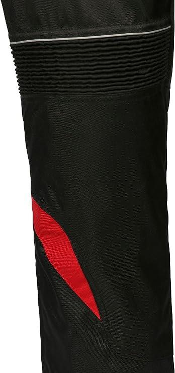 Ledershop Online Bangla 1711 Damen Motorradhose Tourenhose Textil Cordura 600 Schwarz Rot M Auto