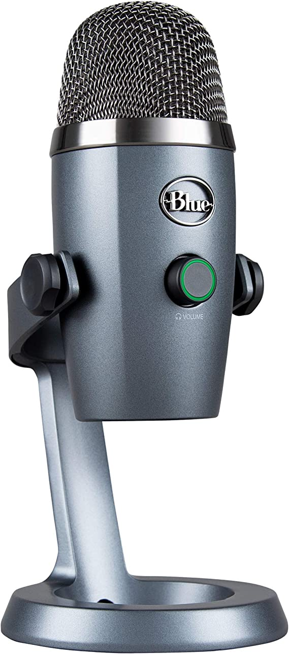 Blue Yeti Nano Professional Condenser USB Microphone with Multiple Pickup Patterns amp NoLatency Monitoring for Recording and Streaming on PC amp Mac  at Kapruka Online for specialGifts