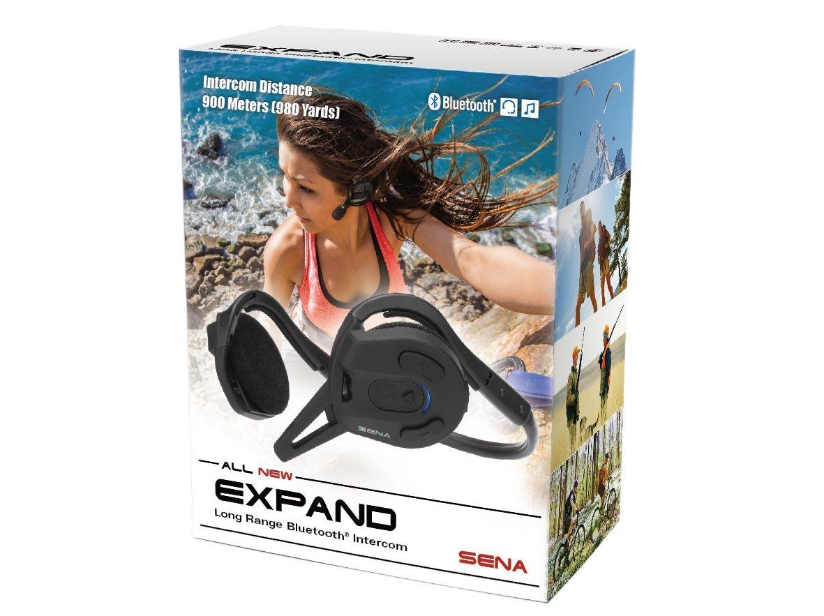 Sena EXPAND-02 EXPAND Long-Range Bluetooth Intercom and Stereo Headset
