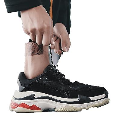 8719b059b1d8 Amazon.com  Running-sun Ins Super Fire Shoes 2018 Spring New Sports Shoes  Women s Shoes Korean Tide Casual Retro Old Shoes Men s Shoes  Shoes