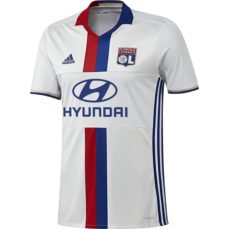1ª Equipación Olympique de Lyon 2015/16 - Camiseta oficial adidas, talla L: Amazon.es: Deportes y aire libre