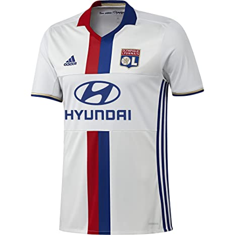 pretty nice a7b97 af780 Amazon.com : adidas Olympique Lyon 2016/17 Home Shirt : Clothing