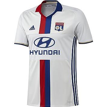 1ª Equipación Olympique de Lyon 2015/16 - Camiseta oficial adidas: Amazon.es: Deportes y aire libre